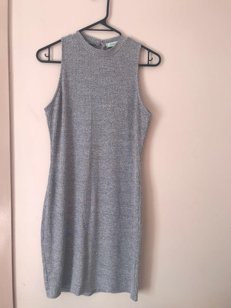 Light Grey Dress