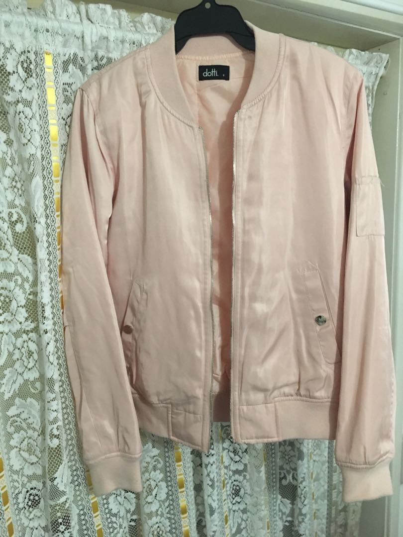 Light pink dotti jacket
