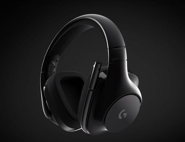 5a100f2043a Logitech g533 wireless gaming headset DTS 7.1 surround sound, Electronics,  Audio on Carousell