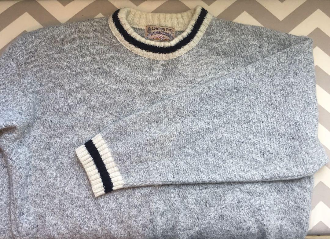 London fog knit sweater