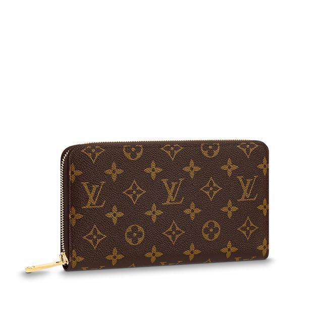 Louis Vuitton Monogram Zip Wallet (Best Replica)
