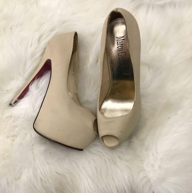 MARCO GIANNI nude heels