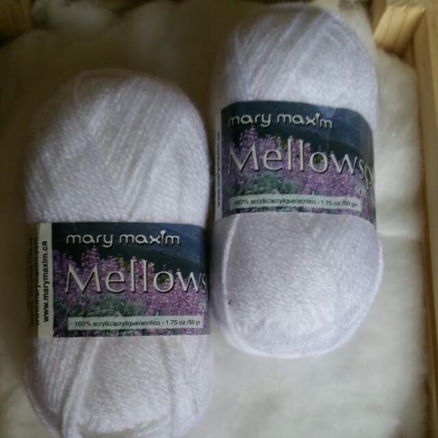 Mary Maxim Mellow Spun 50g