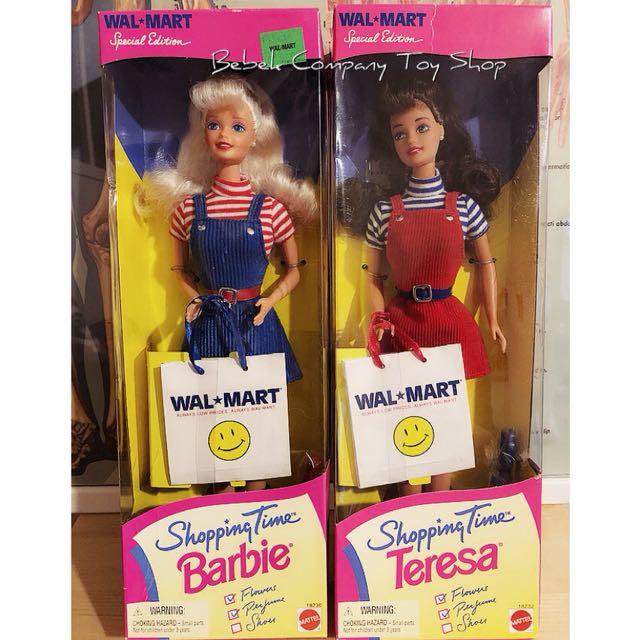 Mattel 1997年 Walmart Barbie 沃爾瑪 絕版 古董 芭比娃娃 全新未拆 盒裝 老芭比