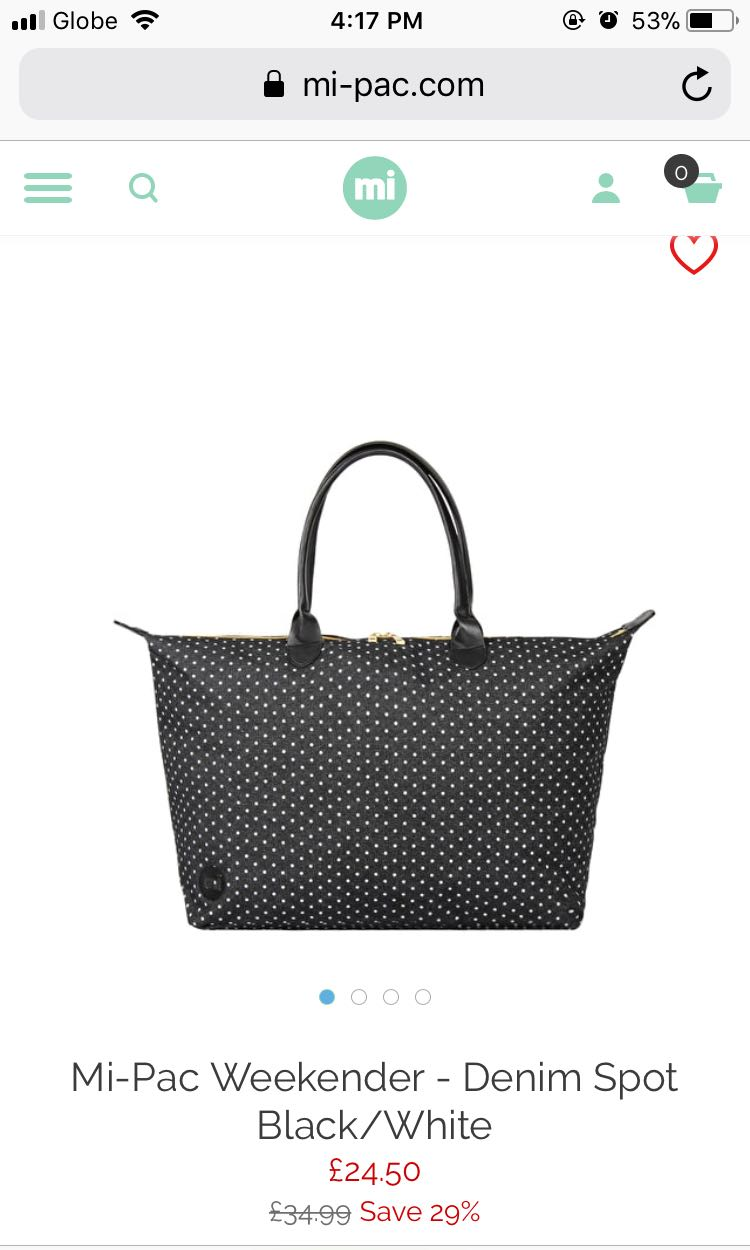 Mi Pac Weekender Bag