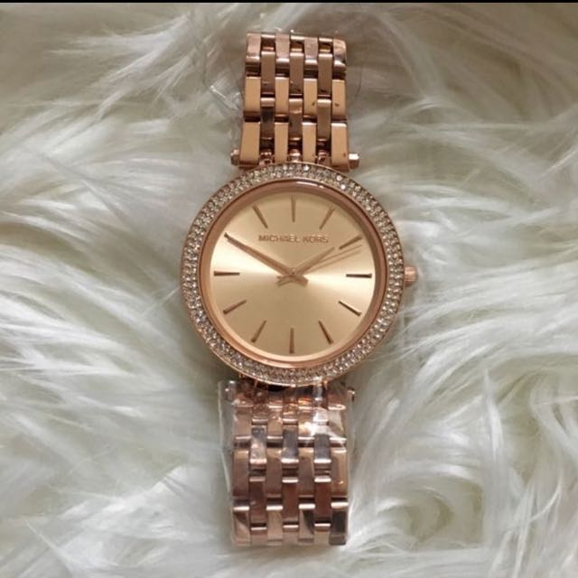 MICHAEL KORS Authentic Darci Rose Gold Watcg