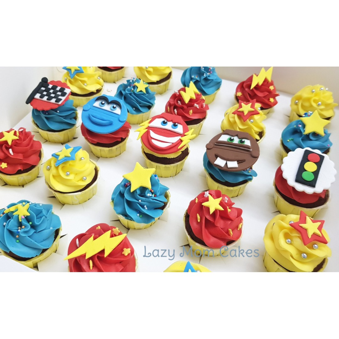 Minicupcake Free Delivery Cupcakes Party Birthday Cup Cake Mini Cupcake Food Drinks Baked Goods On Carousell