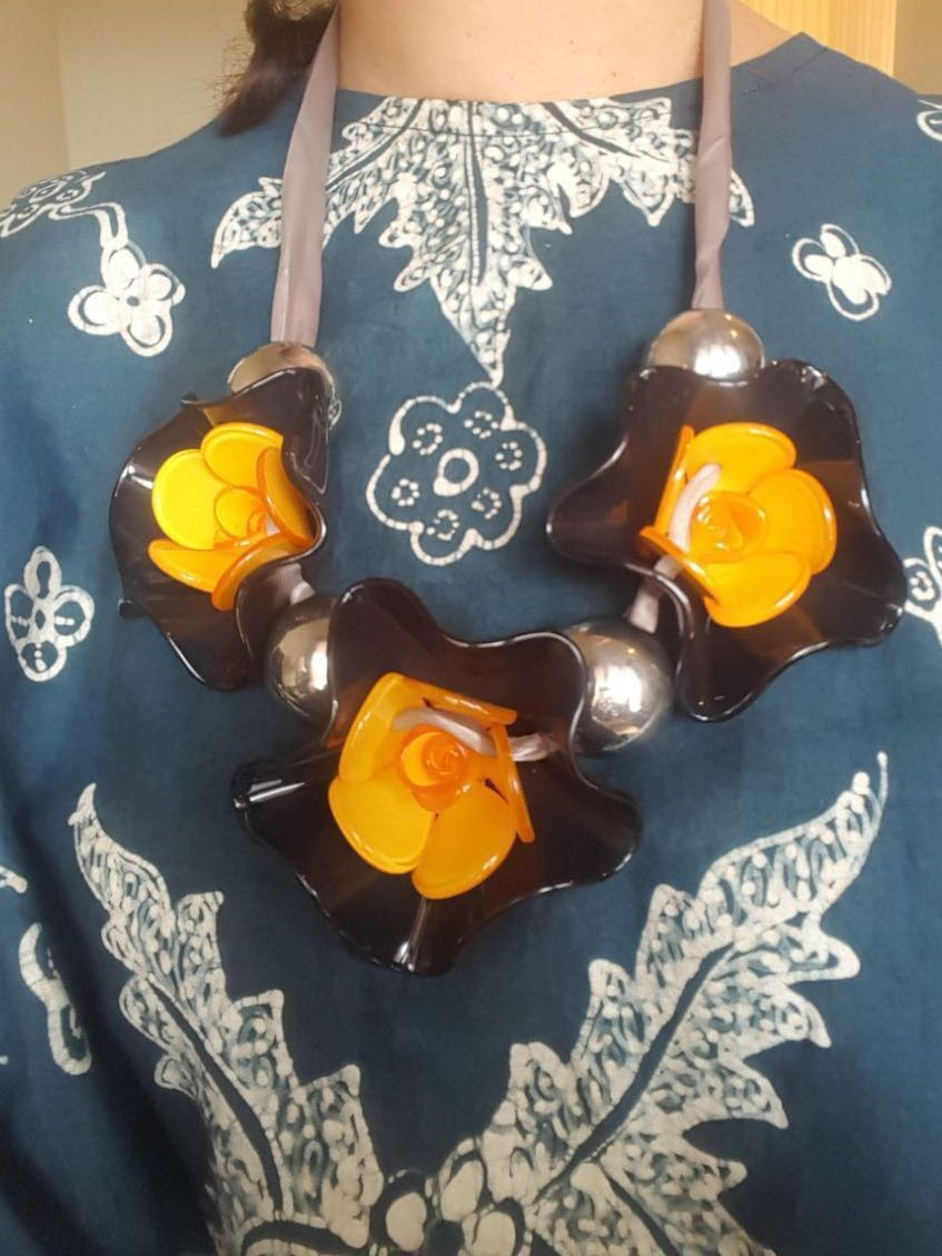 Mirror MARNI Statement Necklace / kalung