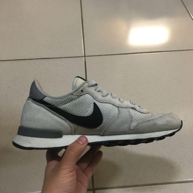 Nike 松本奈惠 鞋 灰