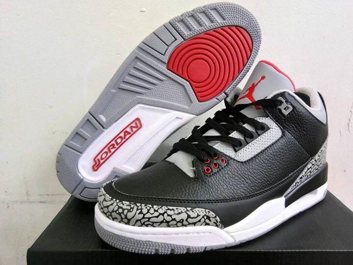 Nike Air Jordan 3 'Black Cement'