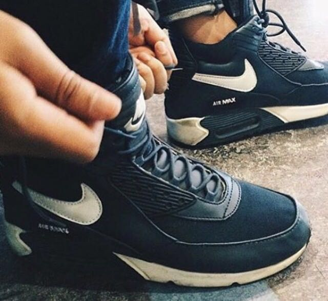 huge selection of 8328c 3f3ee Nike Airmax 90 sneakerboot winterized