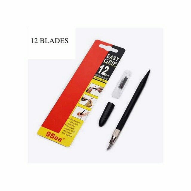 Nine Sea Easy Grip with 12pcs Spare Blade