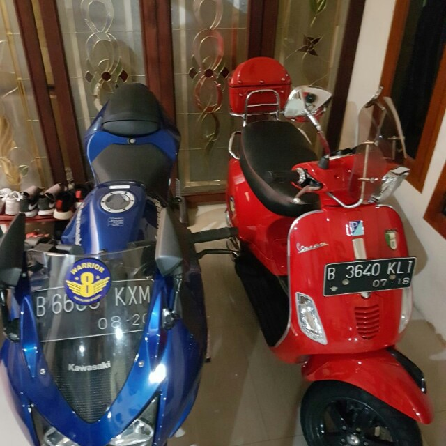Ninja 250&vespa s