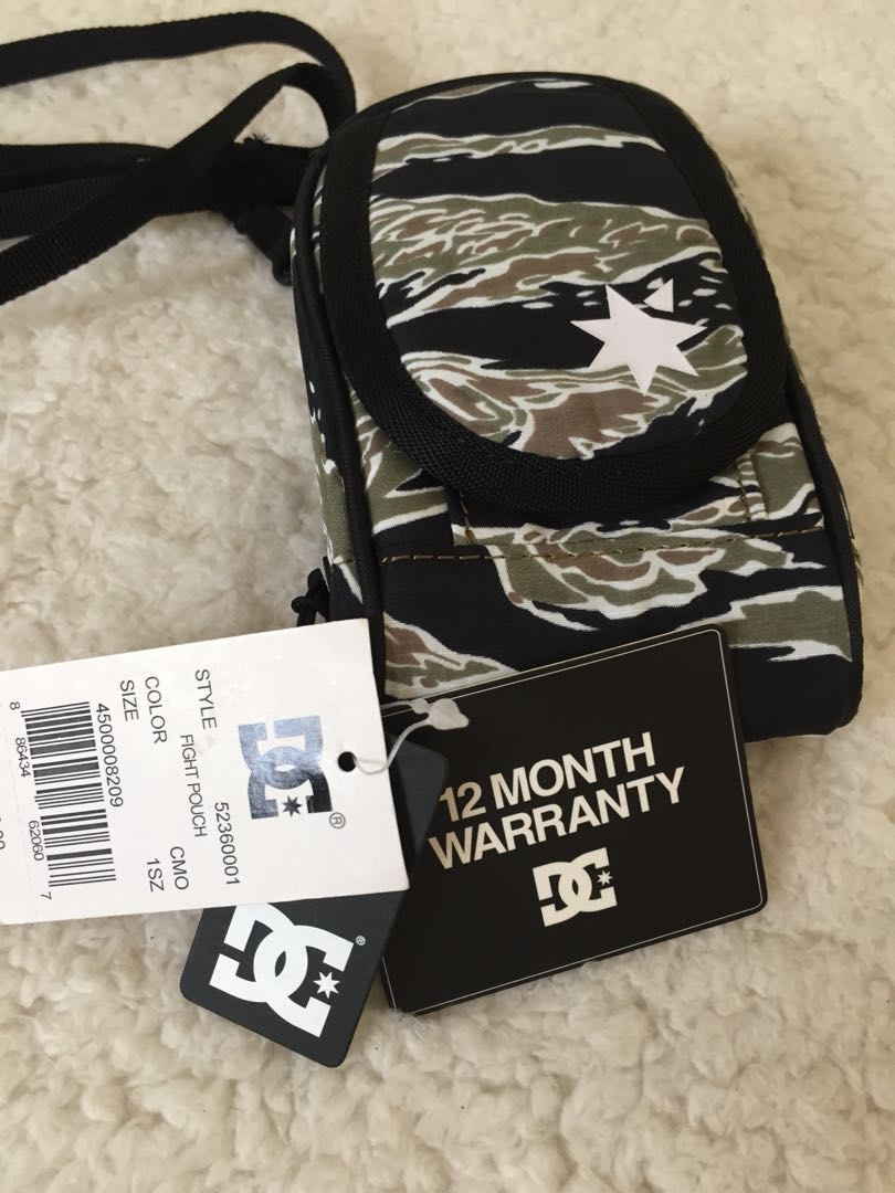 NVRBRKN / DC - The Fight Pouch in Camo