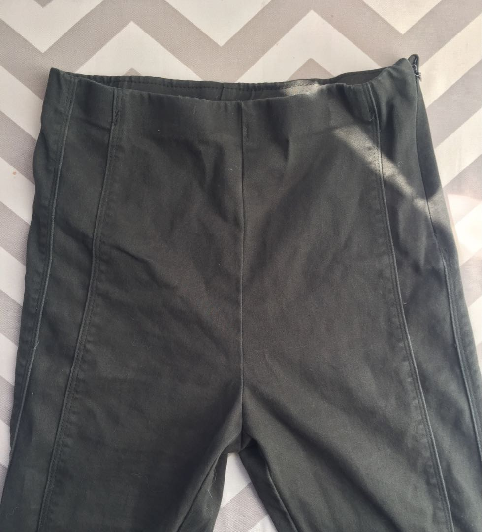 Olive green pants(small)