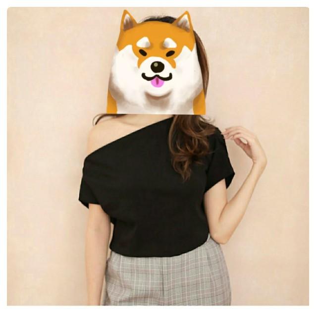 One shoulder top