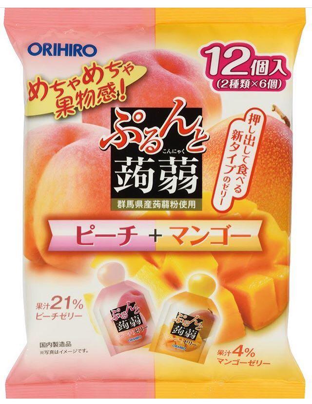 Orihiro Konyaku Jelly