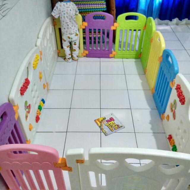 Parklon Pagar Bayi Fence Second Babies Kids Toys