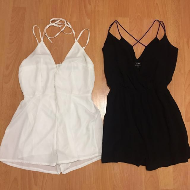 Playsuits size 6
