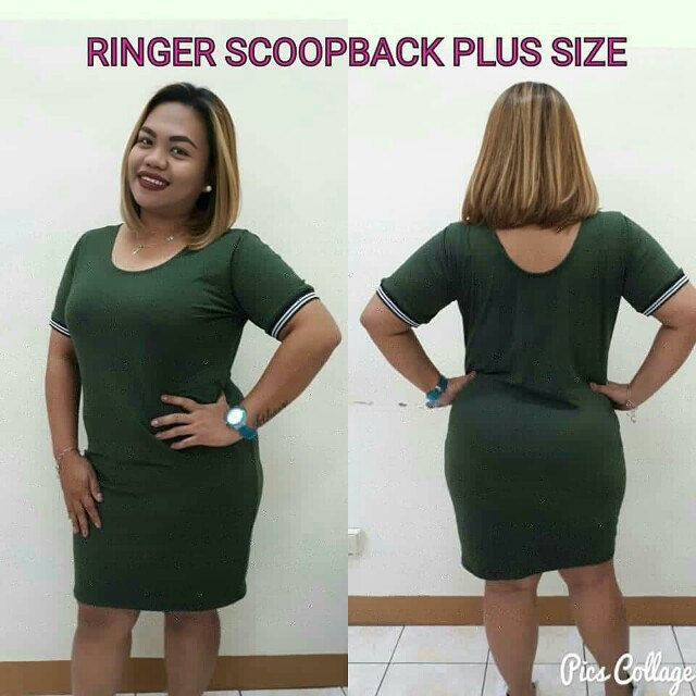 Plus Size Ringer Dress