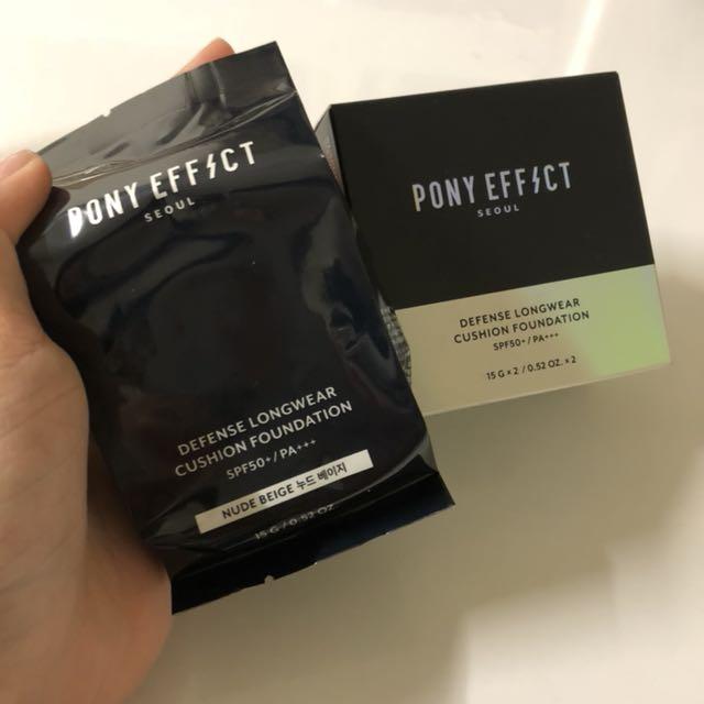 Pony effect神防護氣墊粉餅補充蕊