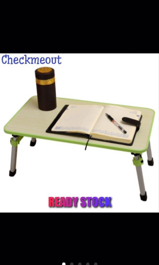 🌈READY STOCK🌈Adjustable Laptop Table