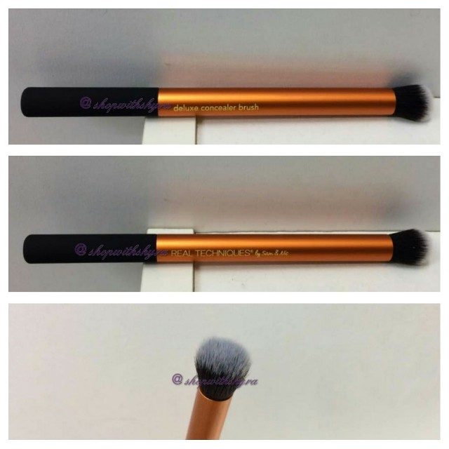 Real Techniques Deluxe Concealer Brush (from Real Techniques Ultimate Base set).