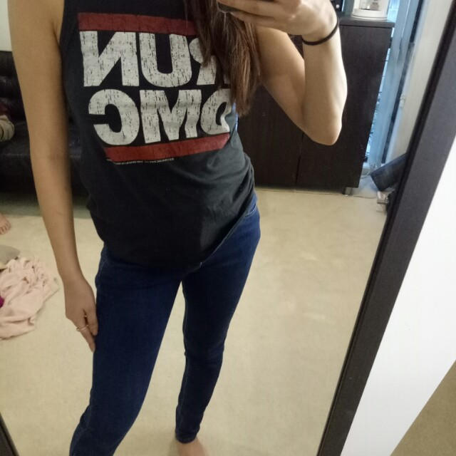 Run DMC tank top