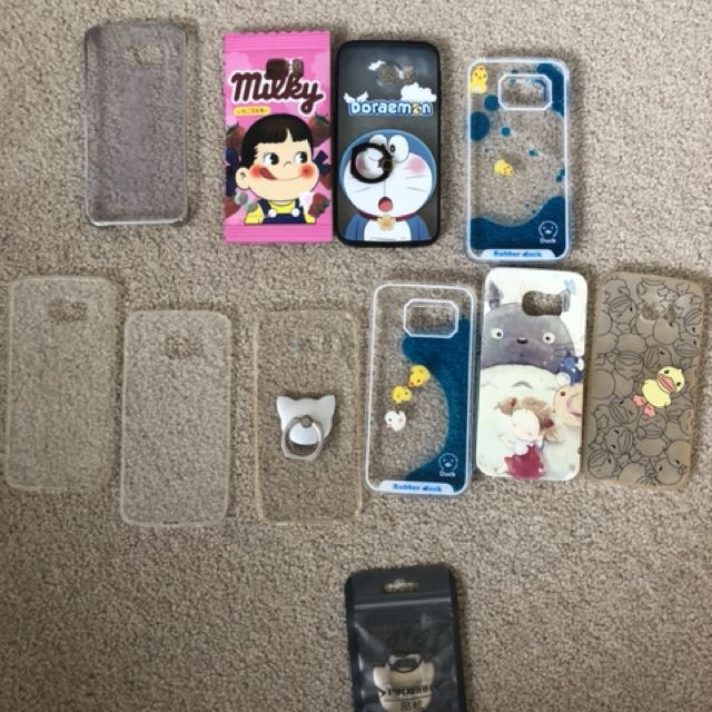 S6 edge cases $2-$8ea $12 for all