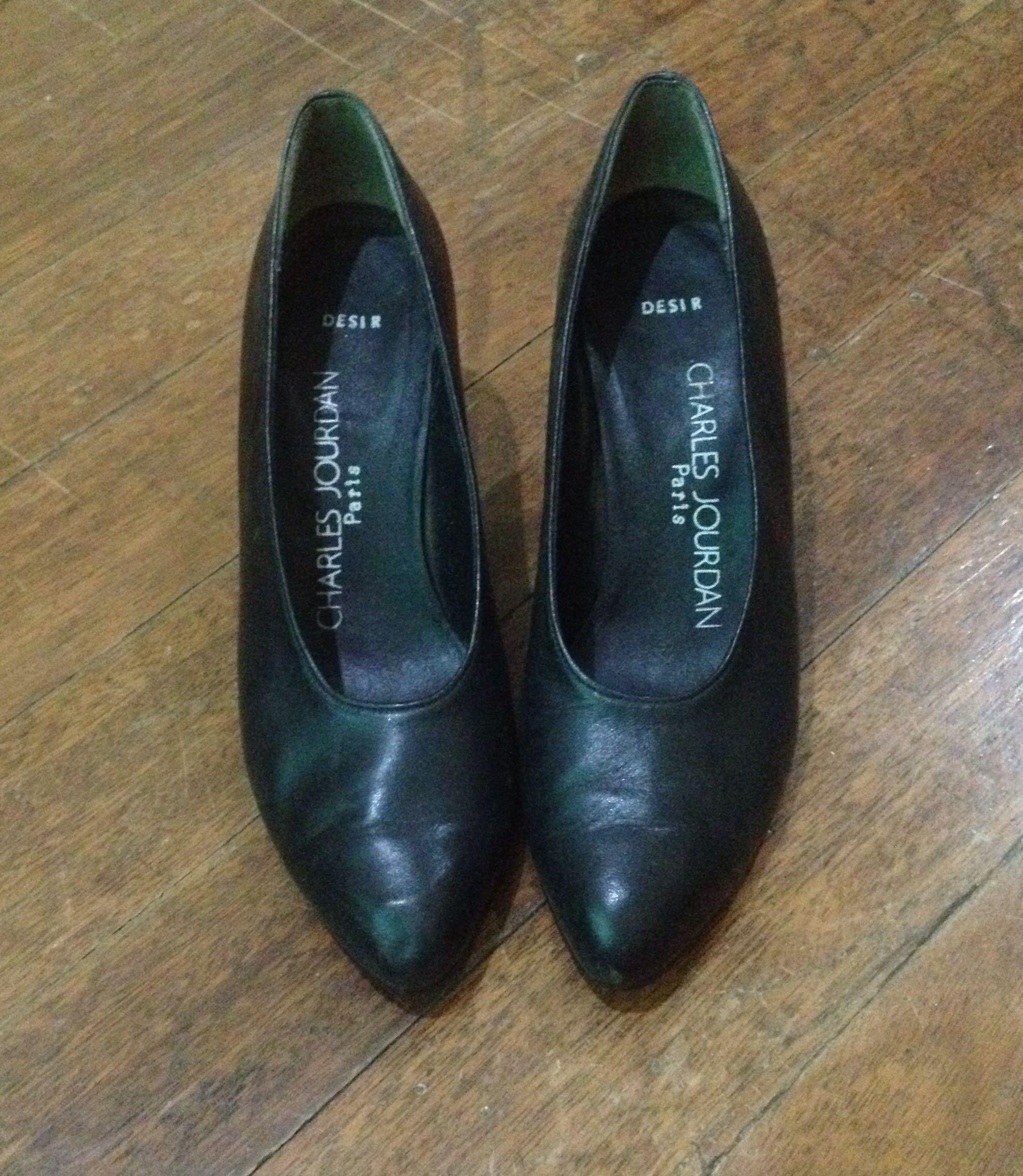 SALE! Genuine Leather Shoes by Charles Jourdan Paris