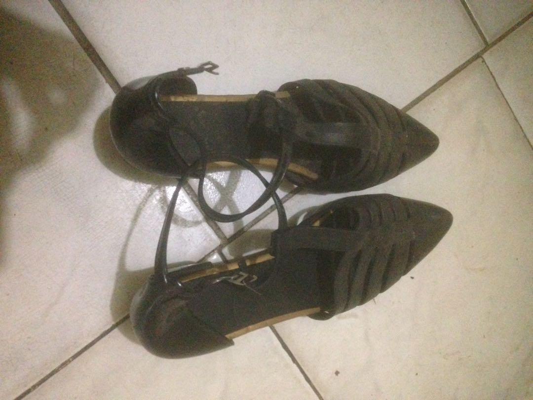 Sandal Wanita Flatshoes Sepatu Wedges Jelly Shoes Womens Flat Lady Sendal Fashion On Carousell