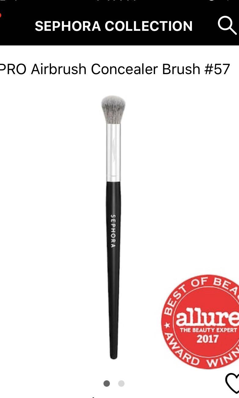 Sephora concealer brush #57
