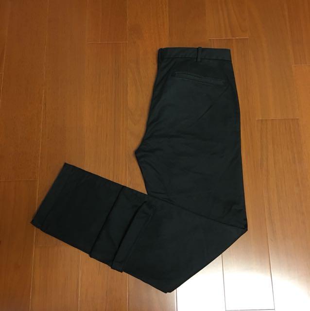 (Size 32w) Uniqlo 優衣庫 純棉彈性赤耳長褲