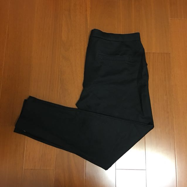 (Size L) Gap 刷毛彈性修身百搭長褲