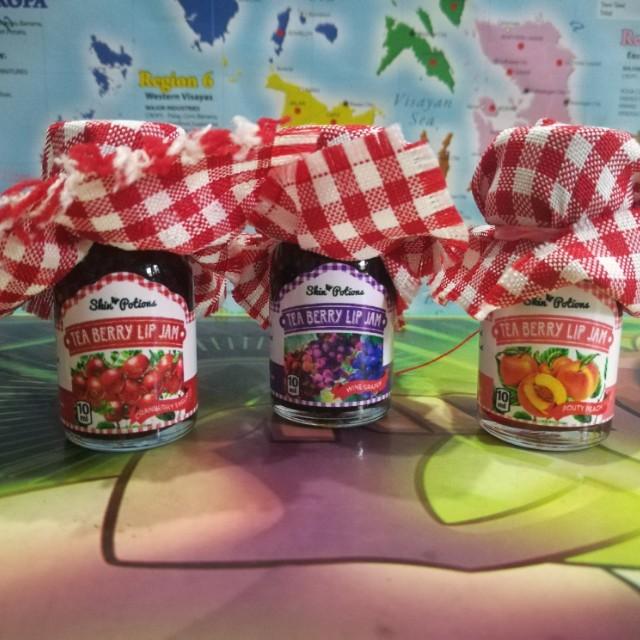 Skin Potions Tea Berry Lip Jam