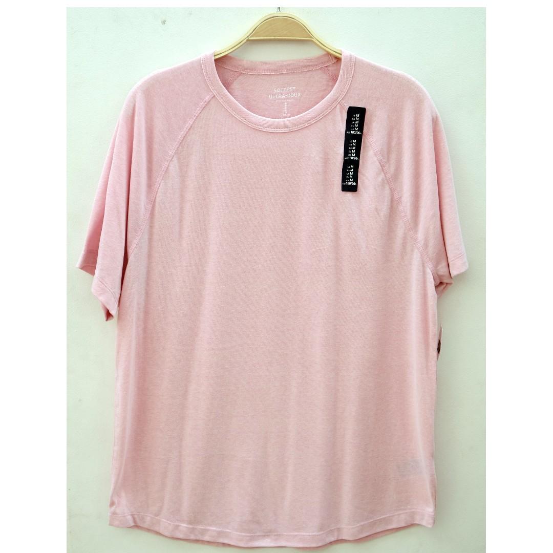 Softest Ultra-Doux Tshirt GAP Pink