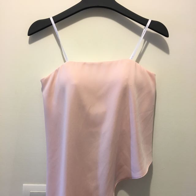 Strapless Blush Top