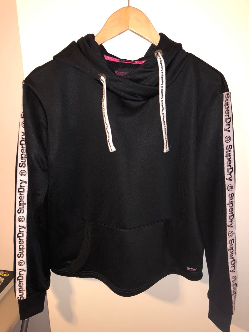 SuperDry Fitness Hood Size M
