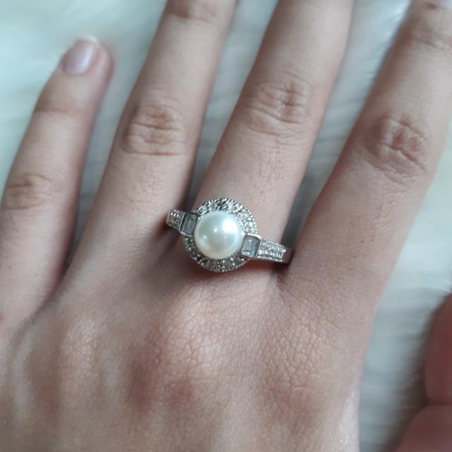 Swarovski Cubic Zirconia Ring