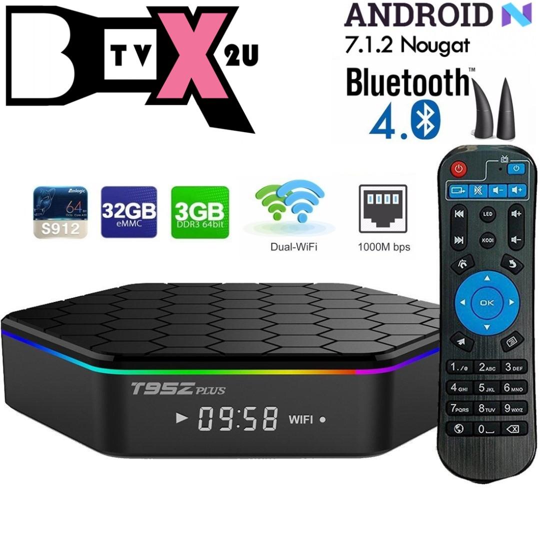 T95Z 3+32GB SMART TV ANDROID BOX 7 1 2/MYIPTV