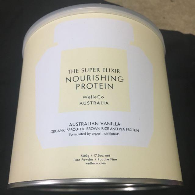 The Super ELIXIR vegan protein