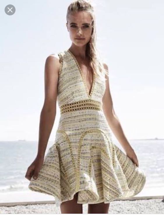 Thurley Buttercup Boucle dress