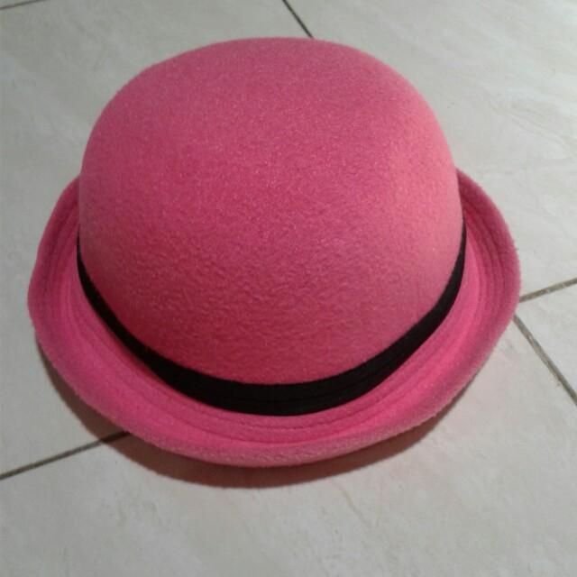 Topi Anak (pink)