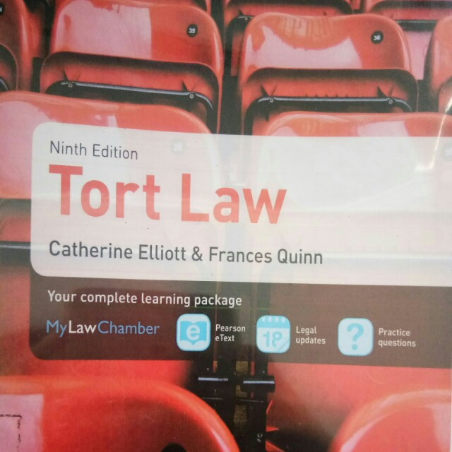 Tort law on Carousell
