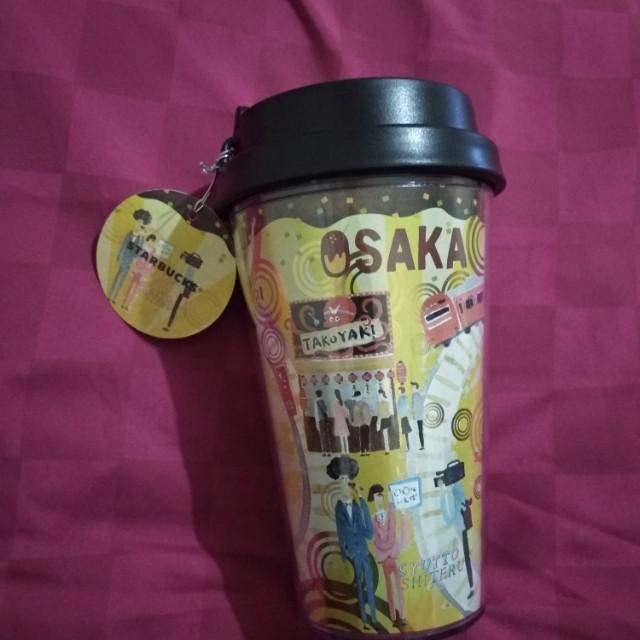 Tumbler Starbucks Osaka Japan Geographic Series