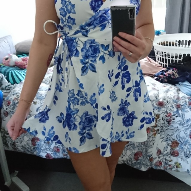 Valleygirl Wrap Dress