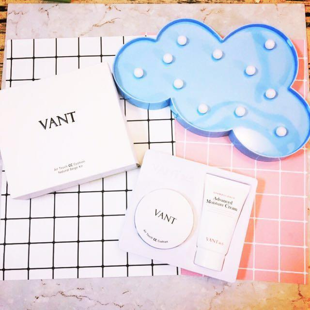 VANT36.5氣墊粉餅+水份霜套組 23色