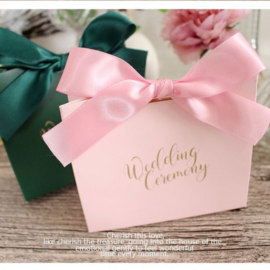 Wedding favors/ Candy Box/ Berkat, Design & Craft, Others on Carousell