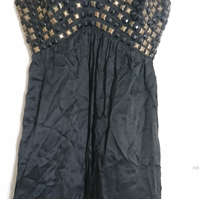 Wish Beaded Black Dress