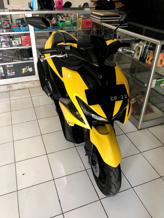 Yamaha Aerox 2017 Kuning/Yellow